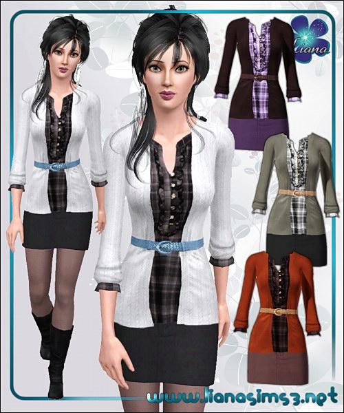 The Sims 3 Мини Юбки